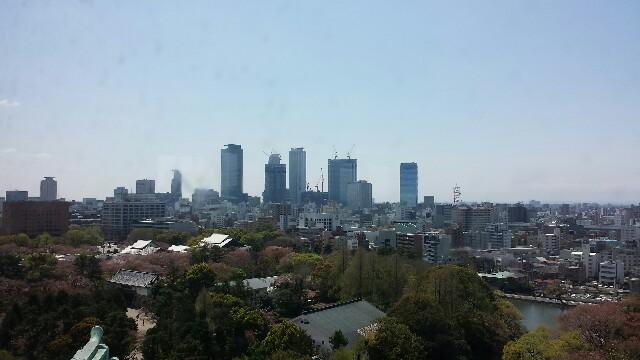 名古屋城からの景色