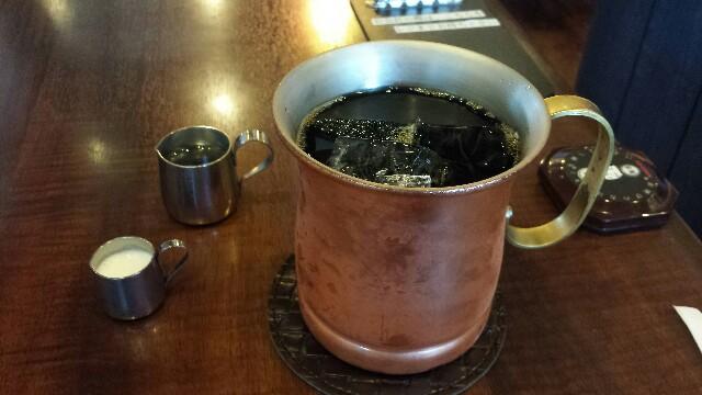 星乃珈琲 アイスコーヒー 写真