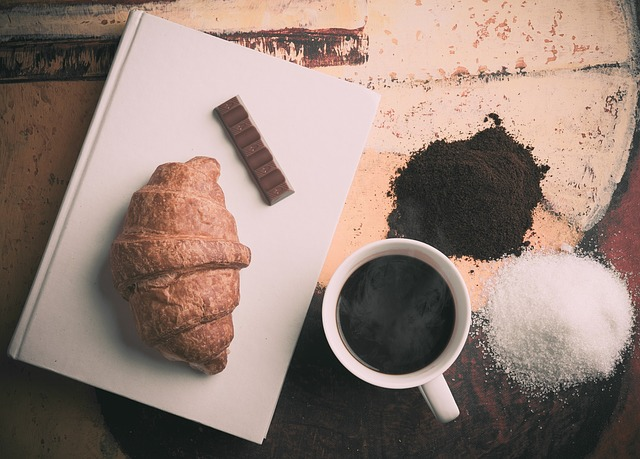 チョコレートとお菓子の画像