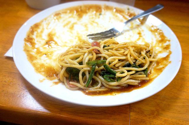 名古屋飯 あんかけパスタ 美味しい