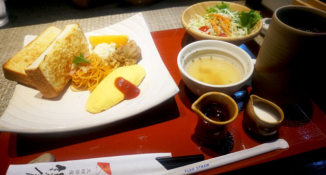 太郎茶屋鎌倉 鎌倉モーニング 写真