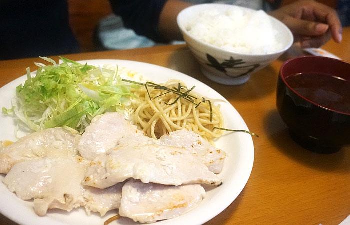 豚の塩麹焼き 写真