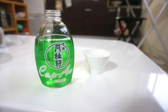 日本酒 月桂冠 上撰 キャップエース 写真