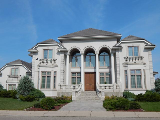 英語のマンションは億万長者が住む豪邸