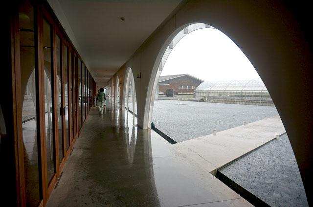 三重県のアクアイグニス 建物がお洒落 写真