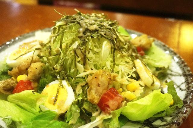 備長扇屋 サラダ