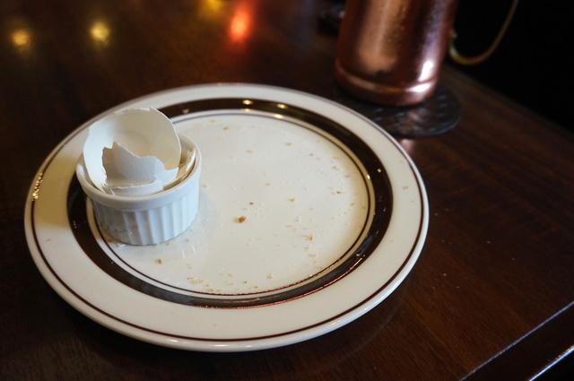 星乃珈琲 モーニング トースト ゆでたまご 完食