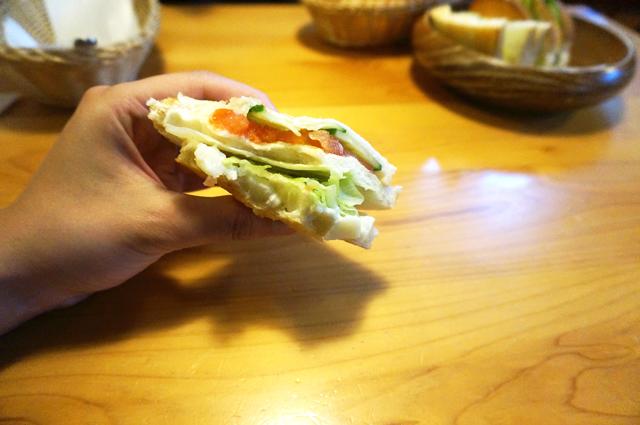 コメダ珈琲店 ポテサラトースト 画像