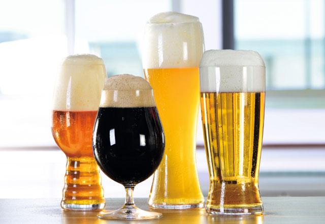 シュピゲラウのビールグラス