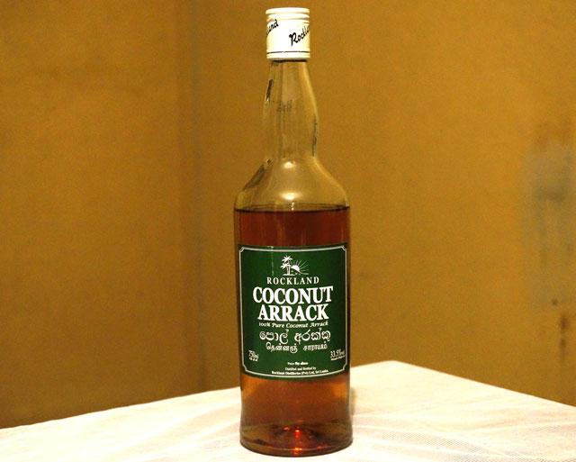 ココナッツの酒 アラック