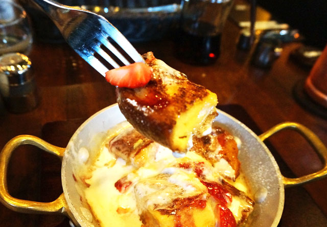 星乃珈琲 苺のフレンチトースト おいしい