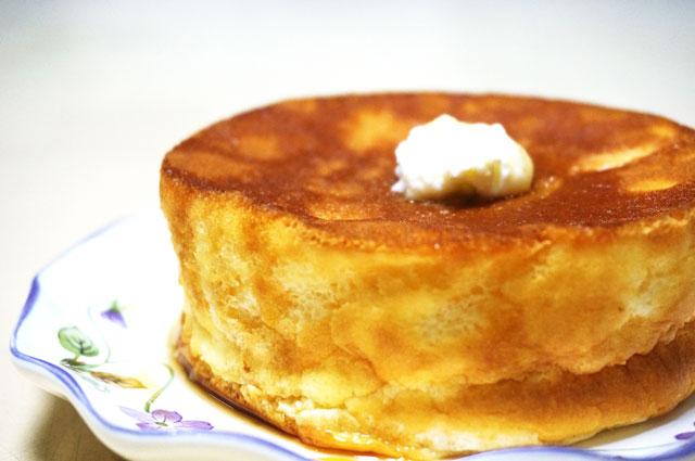 星乃珈琲 スフレパンケーキ テイクアウト おいしい