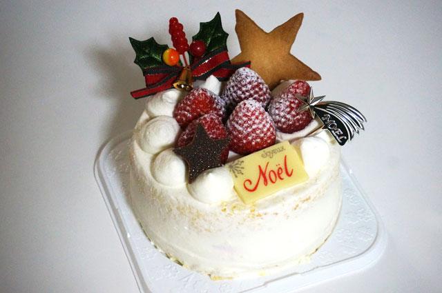 星乃珈琲のクリスマスケーキ 大きさ サイズ