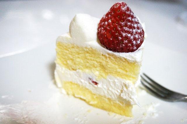 星乃珈琲のクリスマスケーキ イチゴ