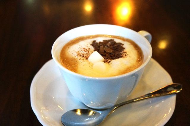星乃珈琲のショコラティエのカフェモカ