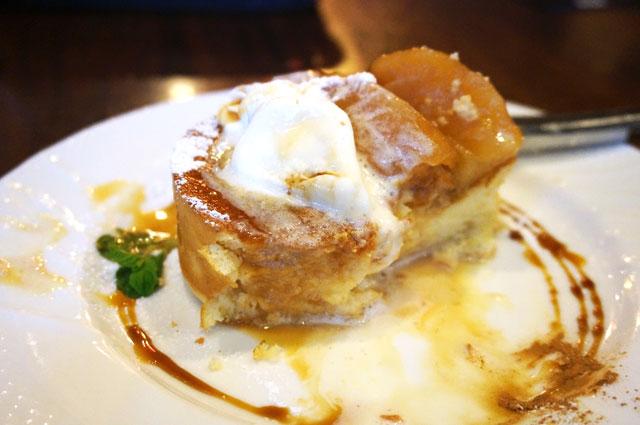 星乃珈琲のキャラメルりんごのスフレパンケーキ,食事メニュー