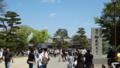 [旅行][風景]国宝松本城 入り口