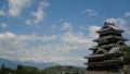 [旅行][風景][景色]松本城と北アルプス
