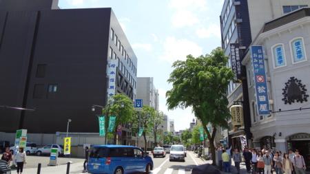 松本市街地メイン通り
