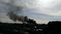 [風景]火事が発生中です
