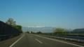 南アルプス 間ノ岳・北岳方向