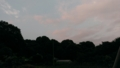 [風景][黄昏[そら]日没後の地元の空