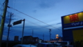 [風景]日没後の空