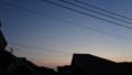 [風景][黄昏][そら]南風の強い夕暮れ