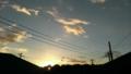 [風景][そら]少しずつ日没が早まってきました