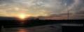 [風景][夕日][そら]今日の夕日 180度パノラマ