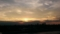 見沼田んぼ 西の夕空