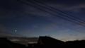 [風景][黄昏][そら]日没後の薄暗い空