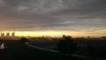 [風景][景色][夕日][そら]大宮方面の景色