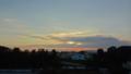 [風景][夕日][そら]大崎のクリーン工場方向