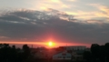 [風景][景色][夕日][そら]浦和美園からの夕日