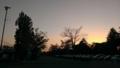 [風景][夕日]刻々と沈んでいく