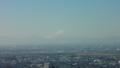 [風景][景色][そら]雪化粧した富士山