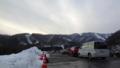 [風景][季節]スキー場の駐車場から