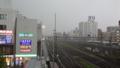 [風景]突然の雷雨 南浦和駅