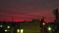 [風景][黄昏][そら]今まで見たことない真っ赤な空