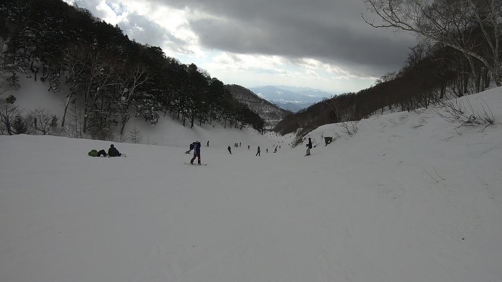 川場スキー場 高手ダウンヒル