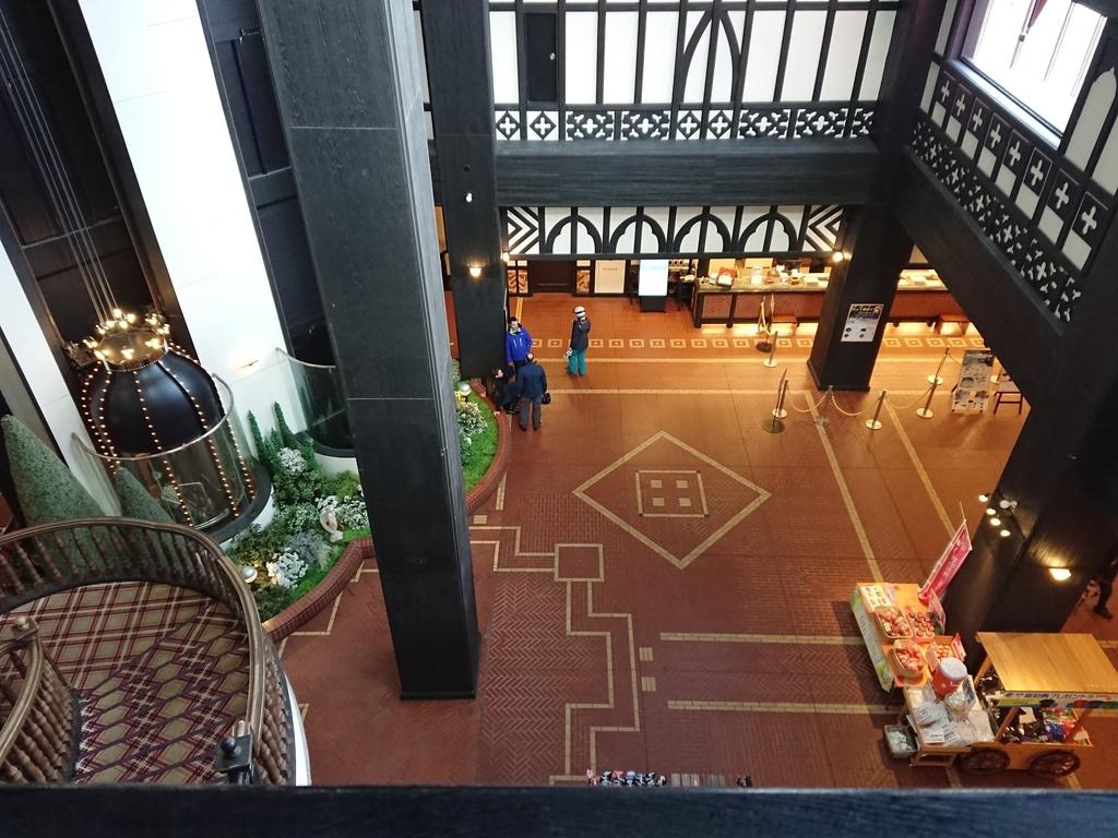 ホテルグリーンプラザ白馬ホテルのロビー