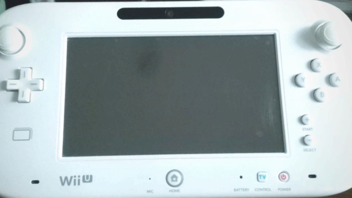 Wii Uゲームパッド