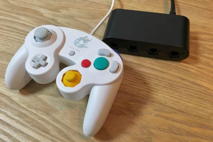 ゲームキューブコントローラー接続タップ【タイトル用】