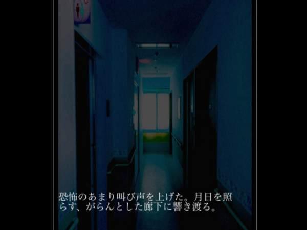 恐怖のあまり叫び声を上げた。月日を照らす、がらんとした廊下に響き渡る