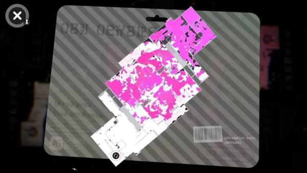 一見ピンクのインクが勝ちに見えるが