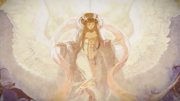 壁画1「女神」