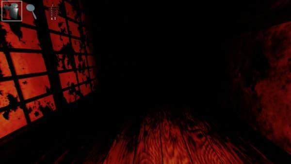 恐ろしい雰囲気が漂う廊下