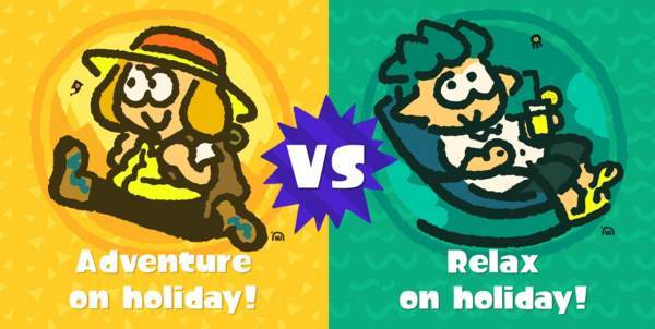 「休みの日の過ごし方は?アウトドア(Adventure) vs インドア(Relax)」【タイトル用】