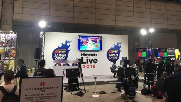 マリオテニスACE JAPAN OPEN 2018